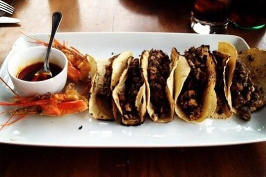 Tacos de Langostino