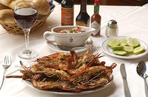 Restaurante de Pescados y Mariscos Danubio en Queremos Comer